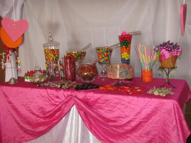 pasteles y postres *Edible Memories*: mesas de dulces/