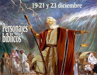 Isaias, Moisés, Marta y María
