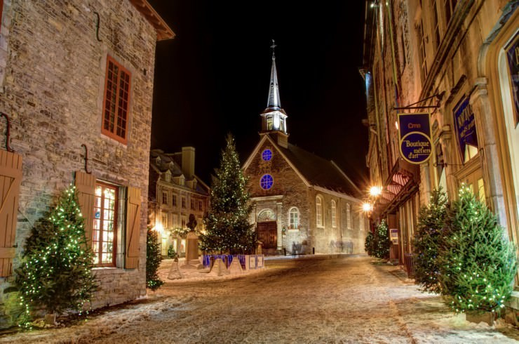 5. Quebec, Canada - Top 10 Most Wintery Cities