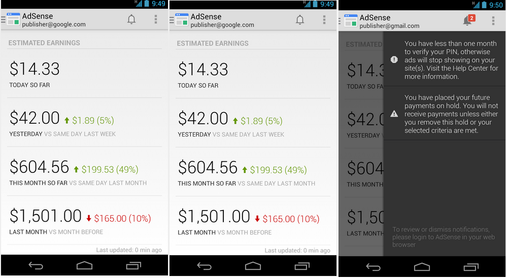 Google Adsense for Android