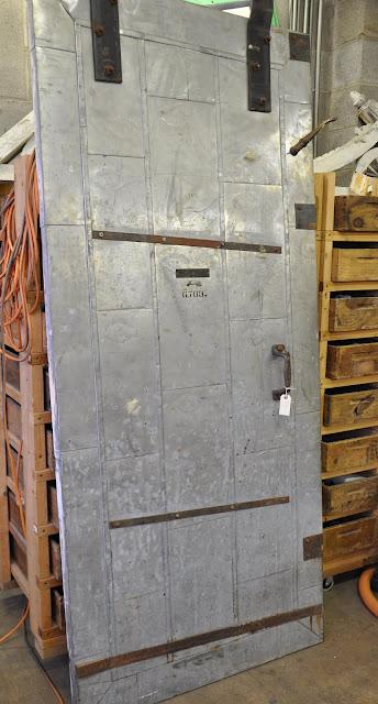 Vintage Industrial Fire Doors : Oklahoma barn market architectural salvage