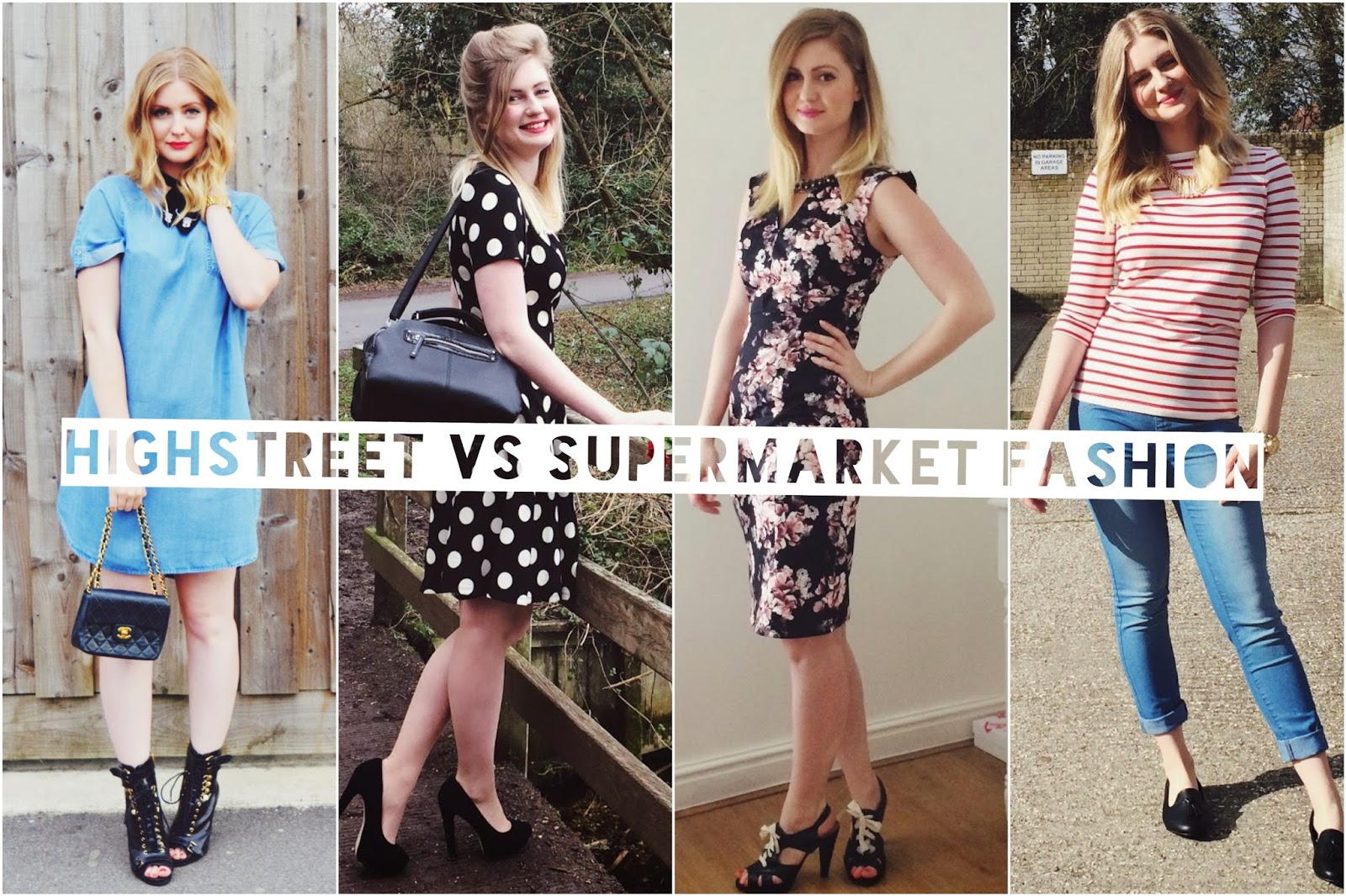 Supermarket fashion brands, FashionFake, fashion bloggers