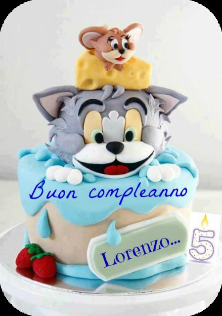 Tom And Jerry Cream Cake
