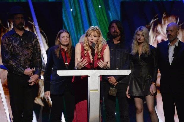 Nirvana Hall Of Fame 2014