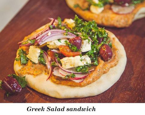 In en om die huis: Greek Salad sandwich