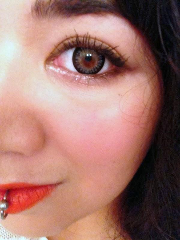 Princess Mimi Sesame Grey colored contacts