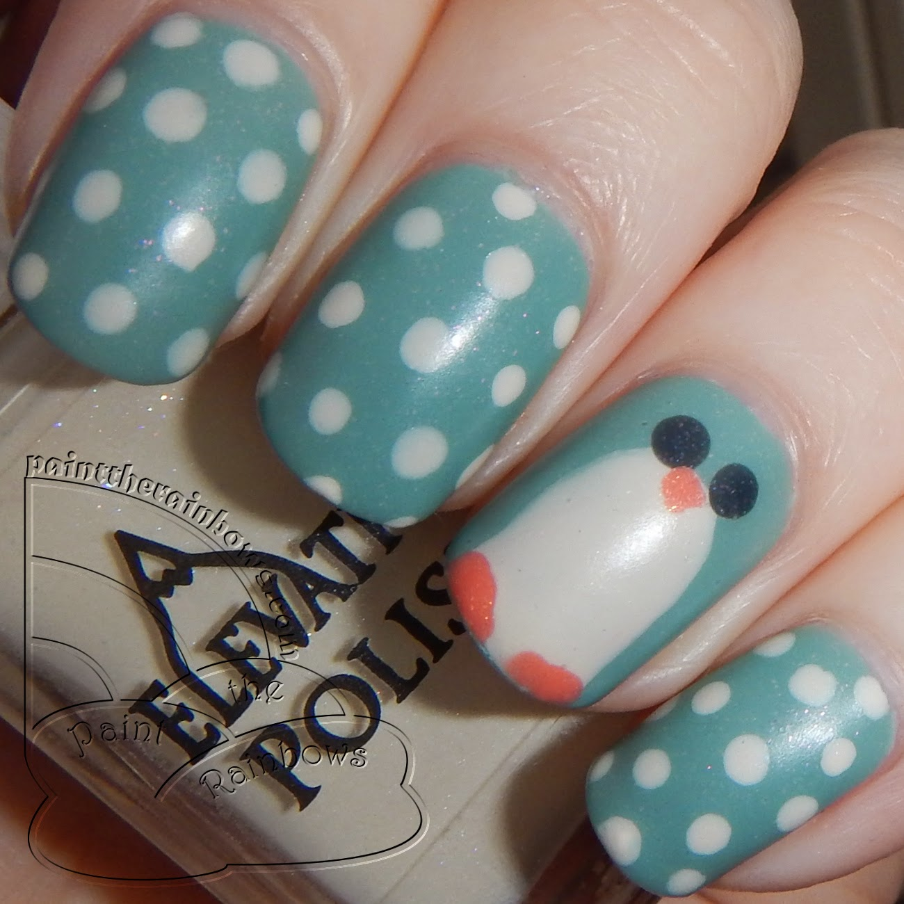 彡 Penguin Nails
