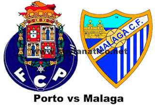 Malaga vs Porto Champions League 2013
