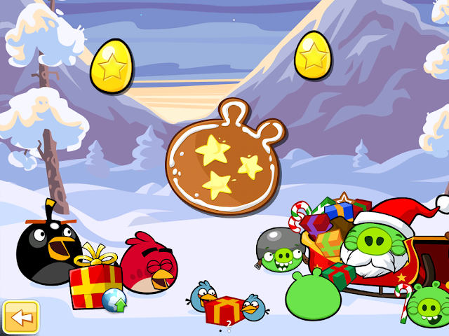 Angry Birds Seasons: Wreck the Halls - Golden Eggs