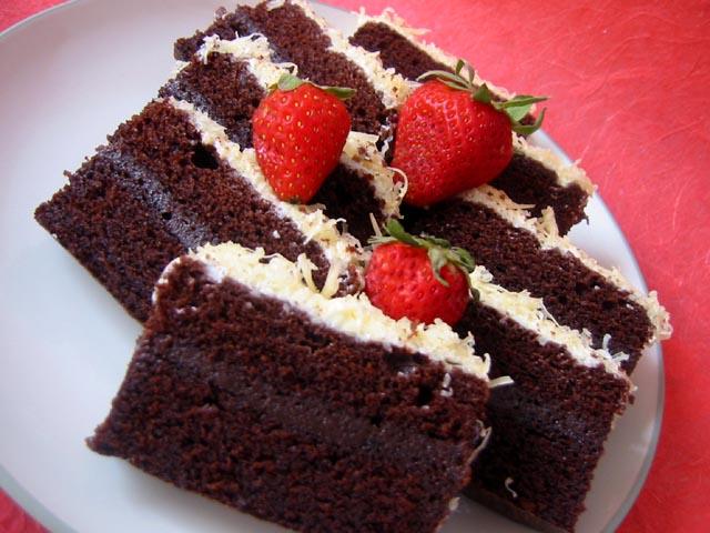 Cara Membuat Kue Brownies Kukus Amanda