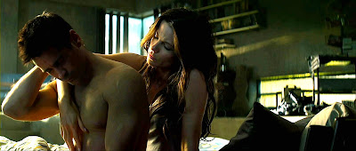 Total Recall Movie - Kate Beckinsale and Colin Farrell