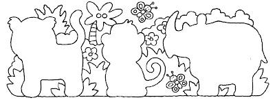 macaco,rinoceronteAtividades com: FIGURA FUNDO, COMPLETAR A FIGURA e COMPLETAR A SEQUÊNCIA.educação infantil,anos iniciais,coordenação motora fina,