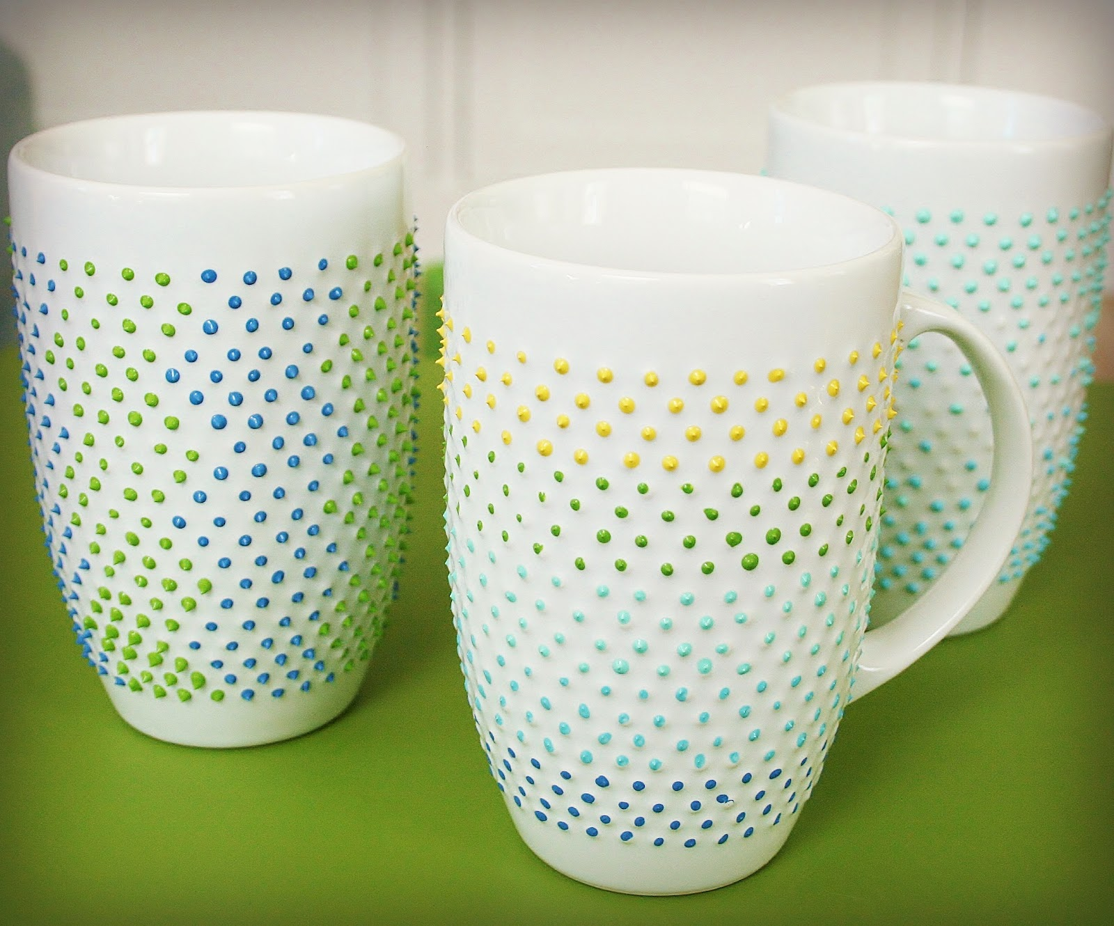 Easy painted pottery designs the image for Mug painting designs