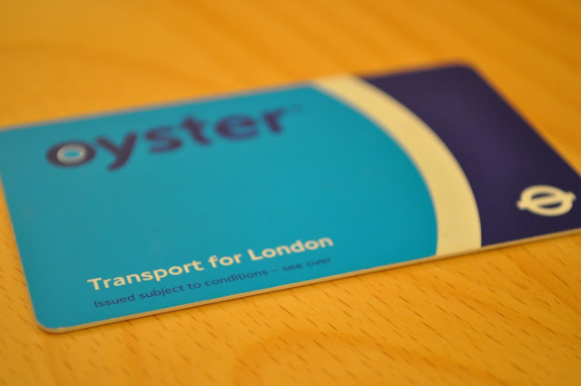 London Underground Oyster card Travelcard