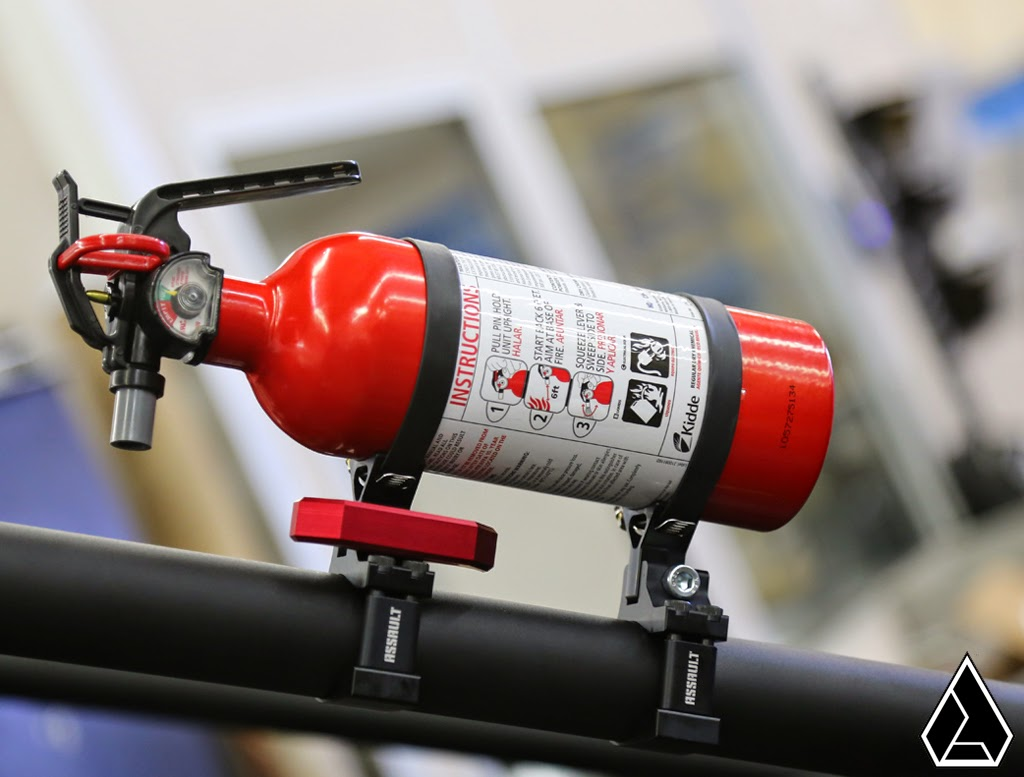 Assault Quick Release Fire Extinguisher Mount