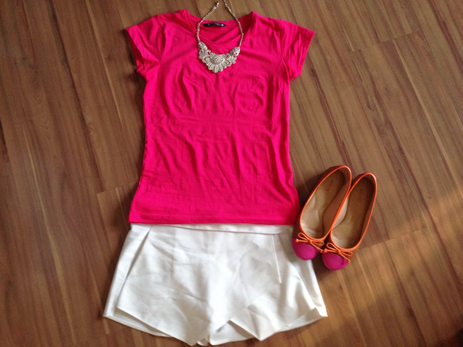 Look do Dia Think Pink