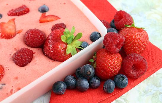 Diamant Eiszauber für Früchte – Zubereitung Creme von Gesichtspunkte