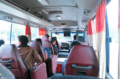 Transportation from Halong to Hanoi