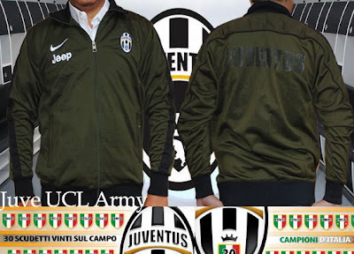 Jaket Juventus Official UCL Green