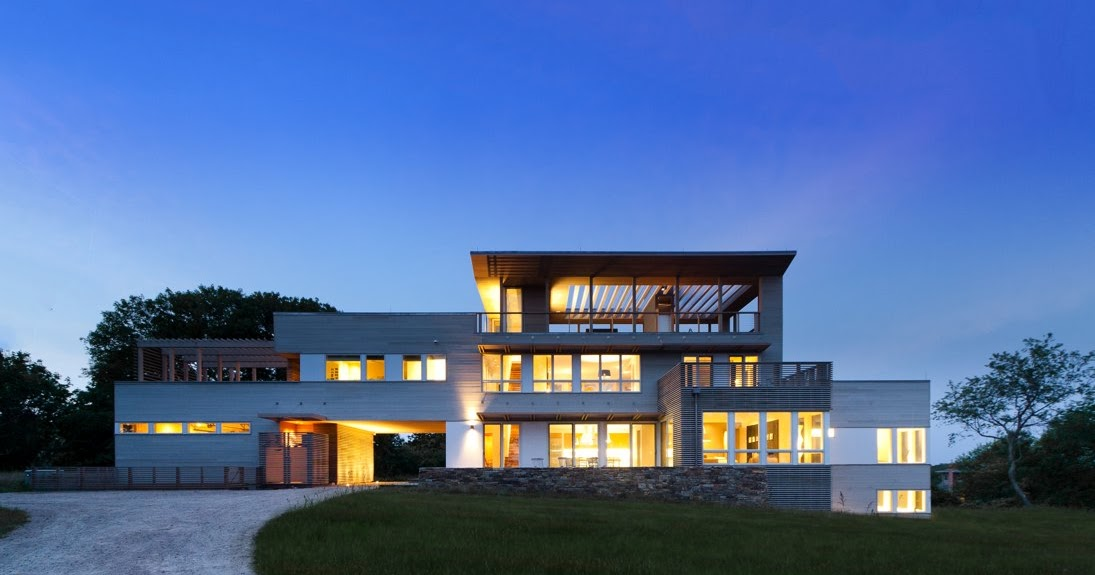 Fishers Island House Resolution Architecture New York Modern Prefab Modular Homes
