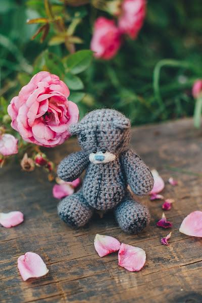 Мишка tatty teddy, связанный крючком