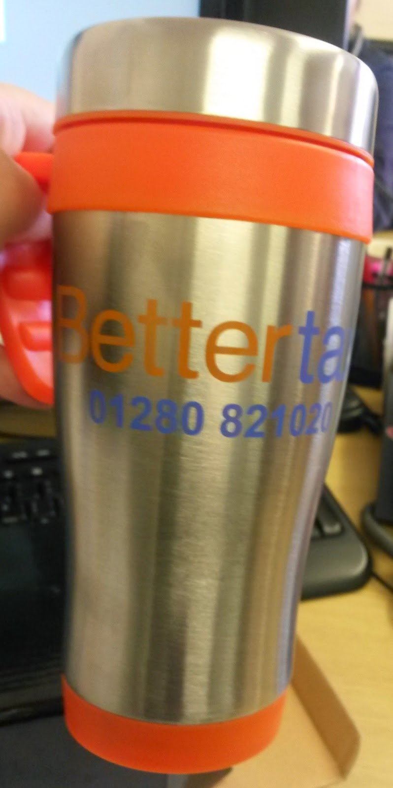 Bettertax tradesman mug