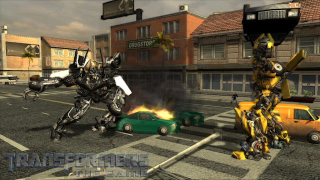 Transformers Le Jeux Screenshot 2
