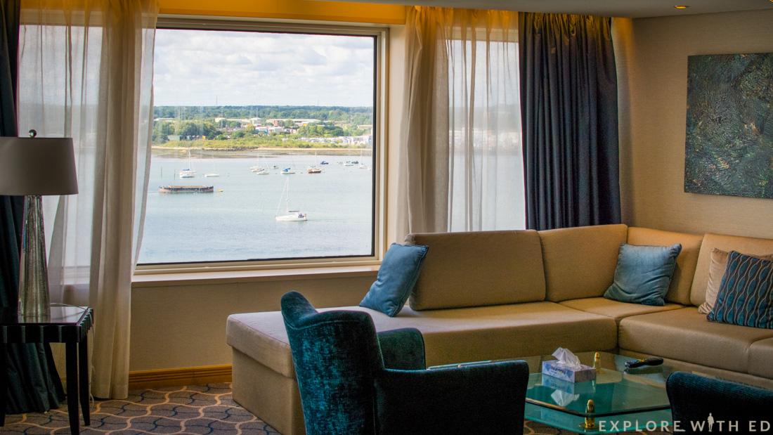 Voyager Class Royal Suite, Southampton