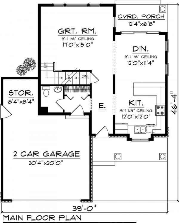 Planos Casa Habitación de dos plantas - Proyectos de Casas