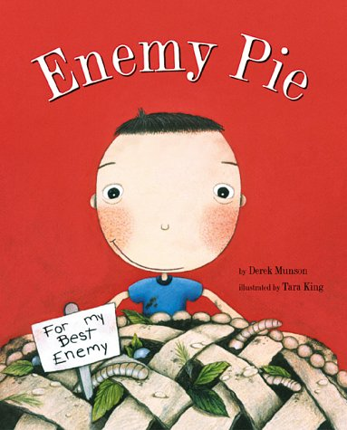http://www.amazon.com/Enemy-Pie-Reading-Rainbow-book/dp/081182778X