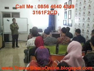 pembicara bisnis online, trainer bisnis online, bisnis online, 0856 4640 4349