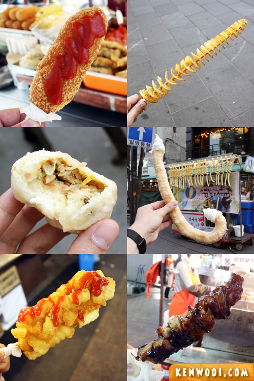 korea street food