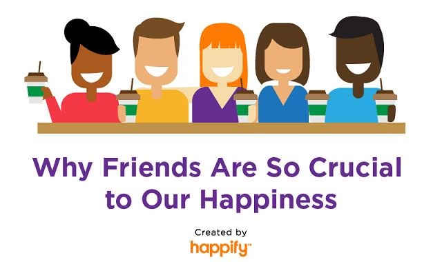 Why Friends Are So Crucial to Our Happiness
