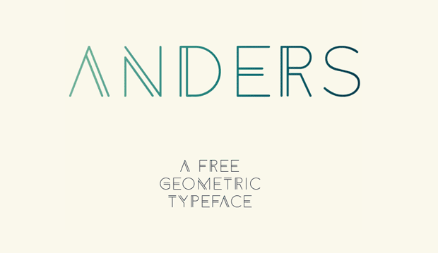 Anders Free font