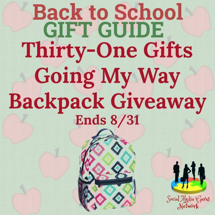 31 Gifts Going My Way Backpack