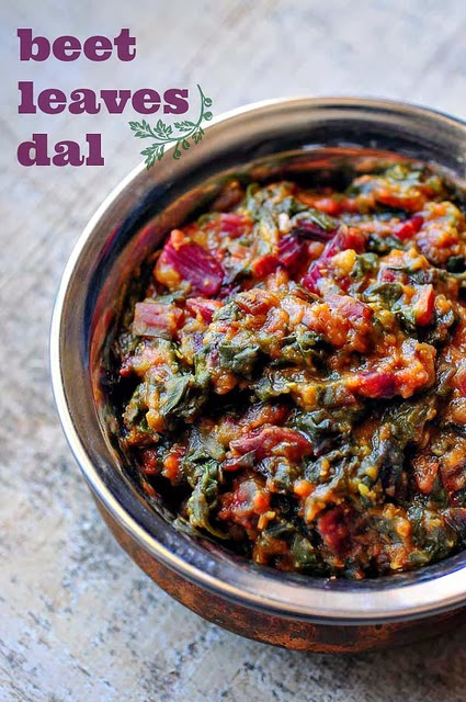 Beetroot Leaves Beetroot Leaves Dal Masoor