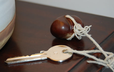 how to put a hole in a conker