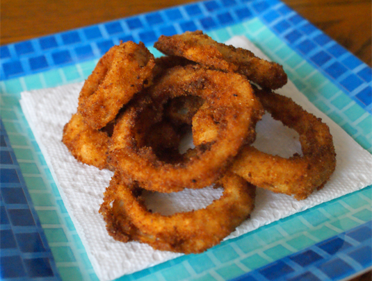 Onion Rings made from scratch