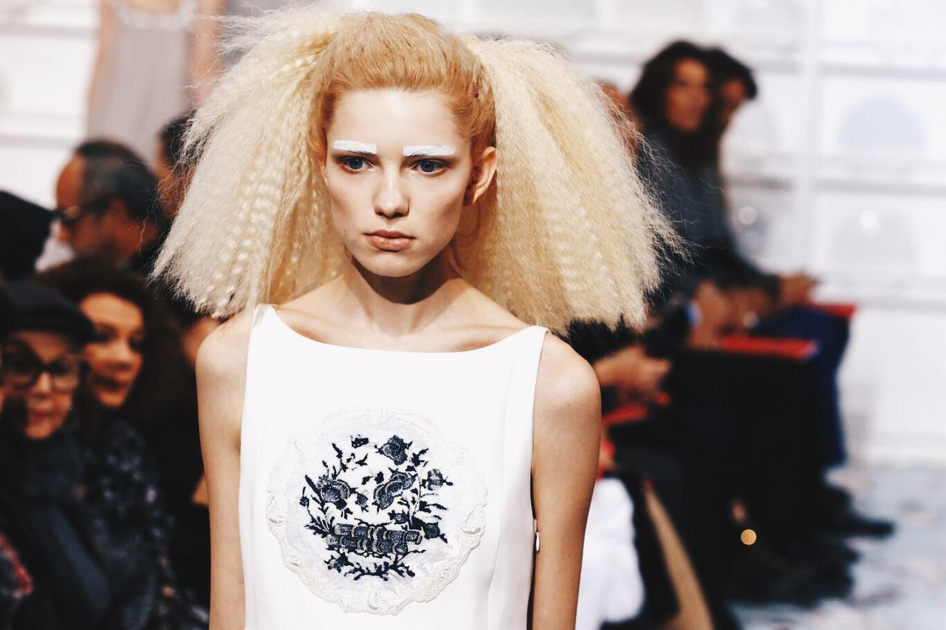 Ana Maddock- Schiaparelli Paris Haute Couture Fashion Week SS16