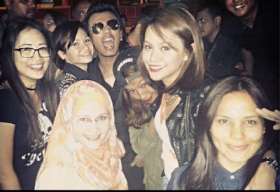faizal tahir, penyanyi, artis, hiburan, album, konsert, Hard Rock Cafe