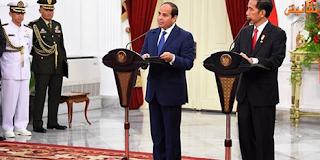 كلمة الرئيس عبد الفتاح السيسى خلال المؤتمر الصحفى مع السيد رئيس المجلس الأوروبى