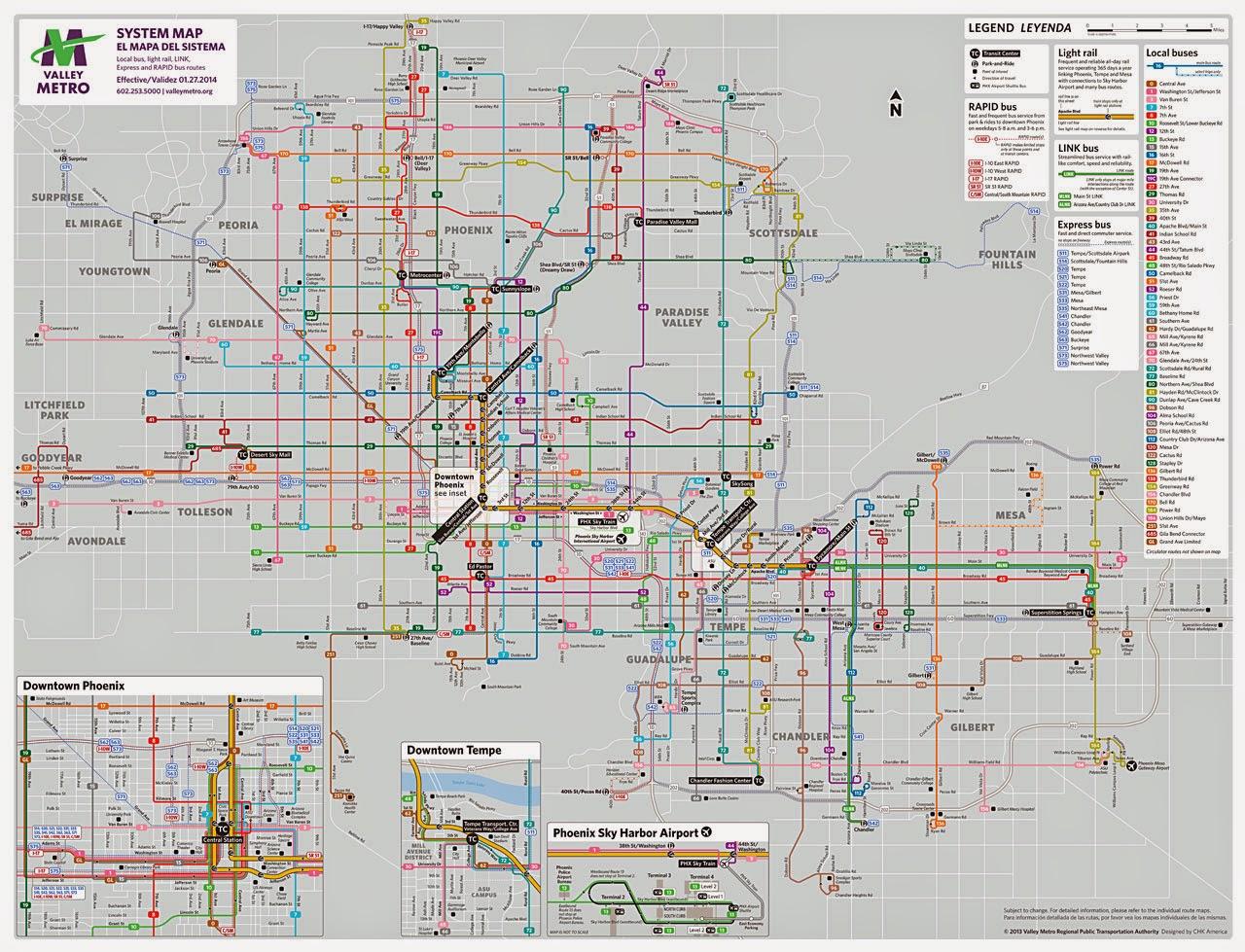 phoenix metropolitan map bnhspinecom