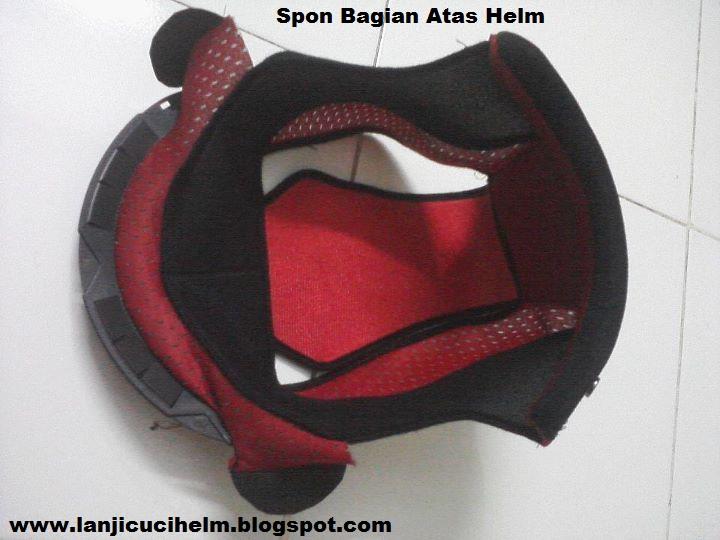tersedia untuk helm half face dan full face mulai dari ketebalan 2mm, 4 mm, 6mm, dan 8 mm