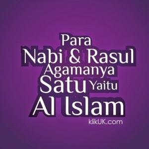 Agama Para Nabi Adalah Islam