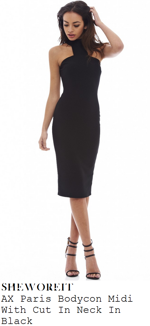 casey-batchelor-black-high-neck-bodycon-midi-dress-in-the-style