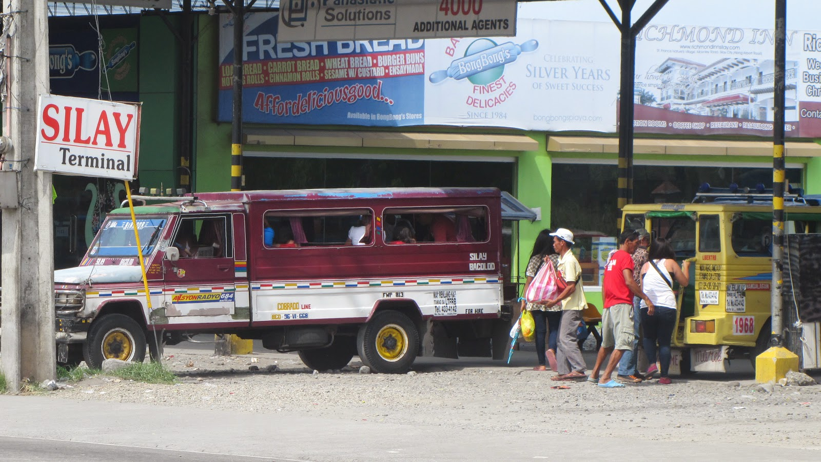 Silay City Jeepney Terminal, Bacolod, Silay City Hall, FTW! Travels