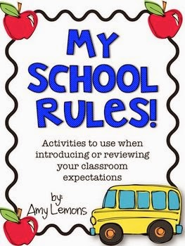 http://www.teacherspayteachers.com/Product/My-School-Rules-Activities-for-introducing-classroom-rules-279427