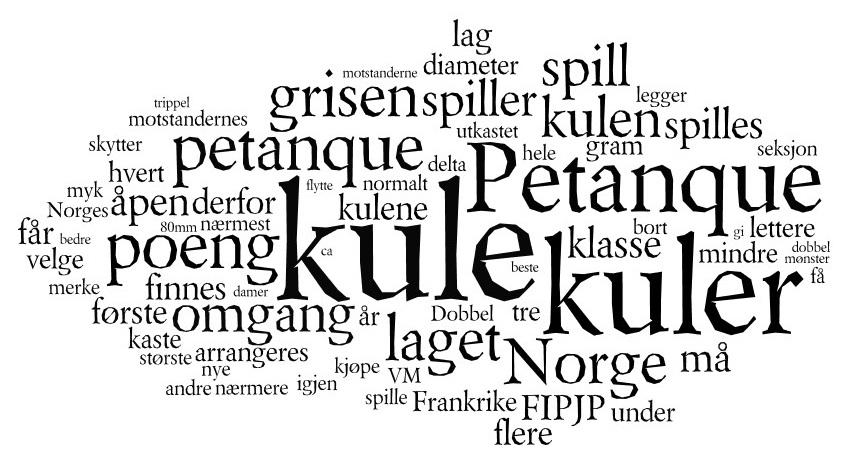 Norwegian petanque