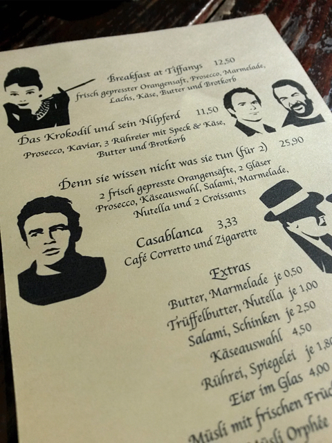Lollo Rosso movie menu