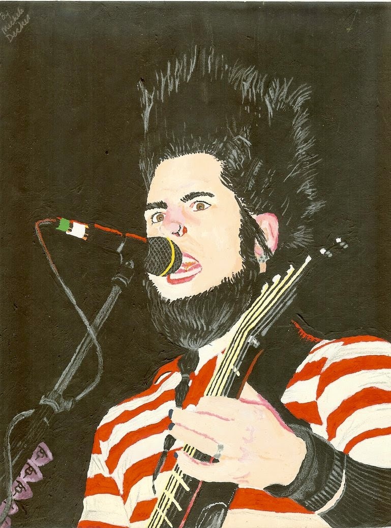 Wayne Static painting